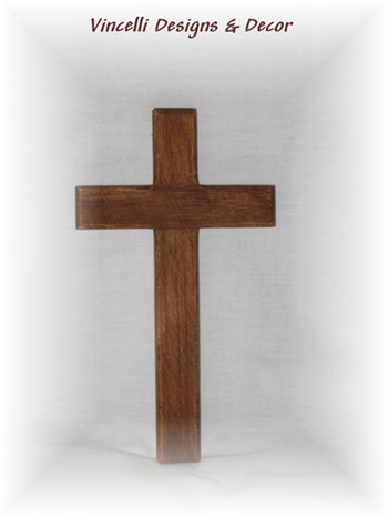Decorative Wooden Cross - Plain