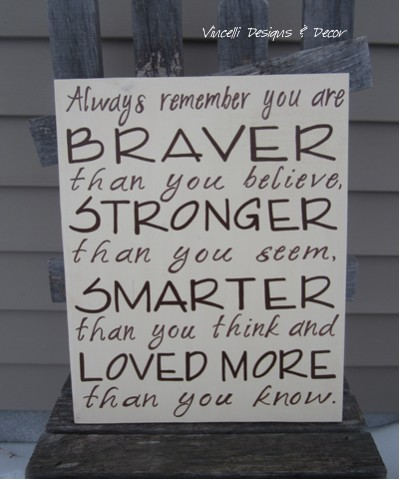 Wood Plaque - Always Remember