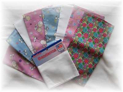Bandannas - Set of 9-bandanna