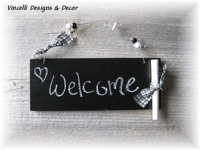 Chalkboard Wood Plaque-chalkboard, chalk, wood, plaque, 