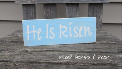 Word Block - He Is Risen