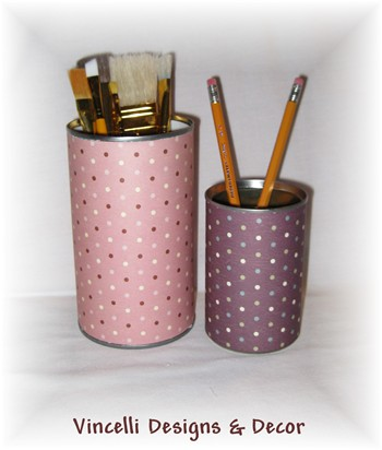 Pencil Holders - 1 Large & 1 Small-pencil holder, pencil, gift