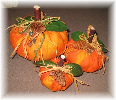 Pumpkins - Set of 3-pumpkin, fall, autumn, thanksgiving, halloween,