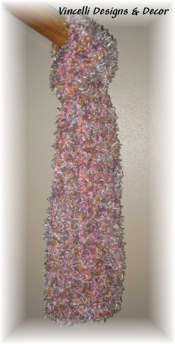 Pastel &quot;Twister&quot; Scarf-scarf, knitted, accessory, 